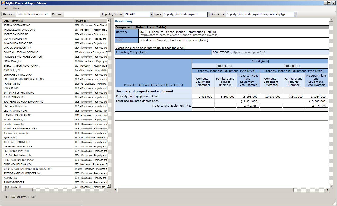 Source Code For Vb Net Digital Financial Report Disclosure